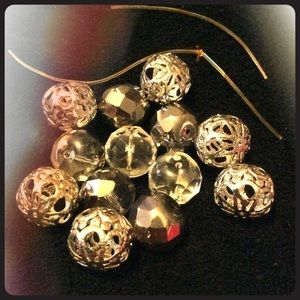 Jewelry - Disco Ball and Bauble Bracelet Beads
